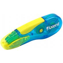 Корректор ленточный Axent 5ммх5м сине-желтый (12) (30) №7006-01