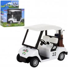 Машина металева Kinsfun Golf Cart 11,5 см, в коробці 14х16х7 см (96) KS 5105 W КІ