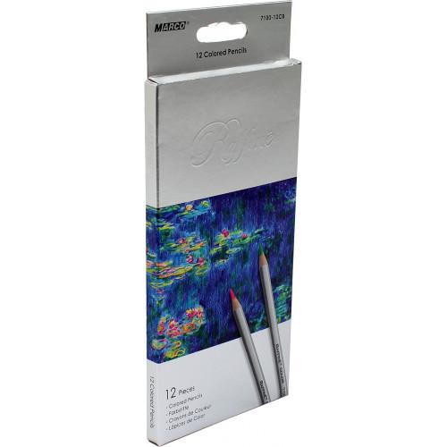 Олівці кольорові Marco 12 кольорів сіра коробка (12) (240) 7100-12CB