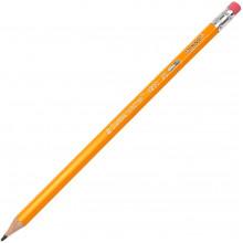 Олівець графітний Marco з гумкою (144) (2880) 4200-2B