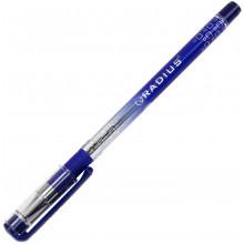 Ручка кулькова Radius I-pen 0,7мм синя напівпрозорий корпус, картонна упаковка (50) (300) (1200) 0184
