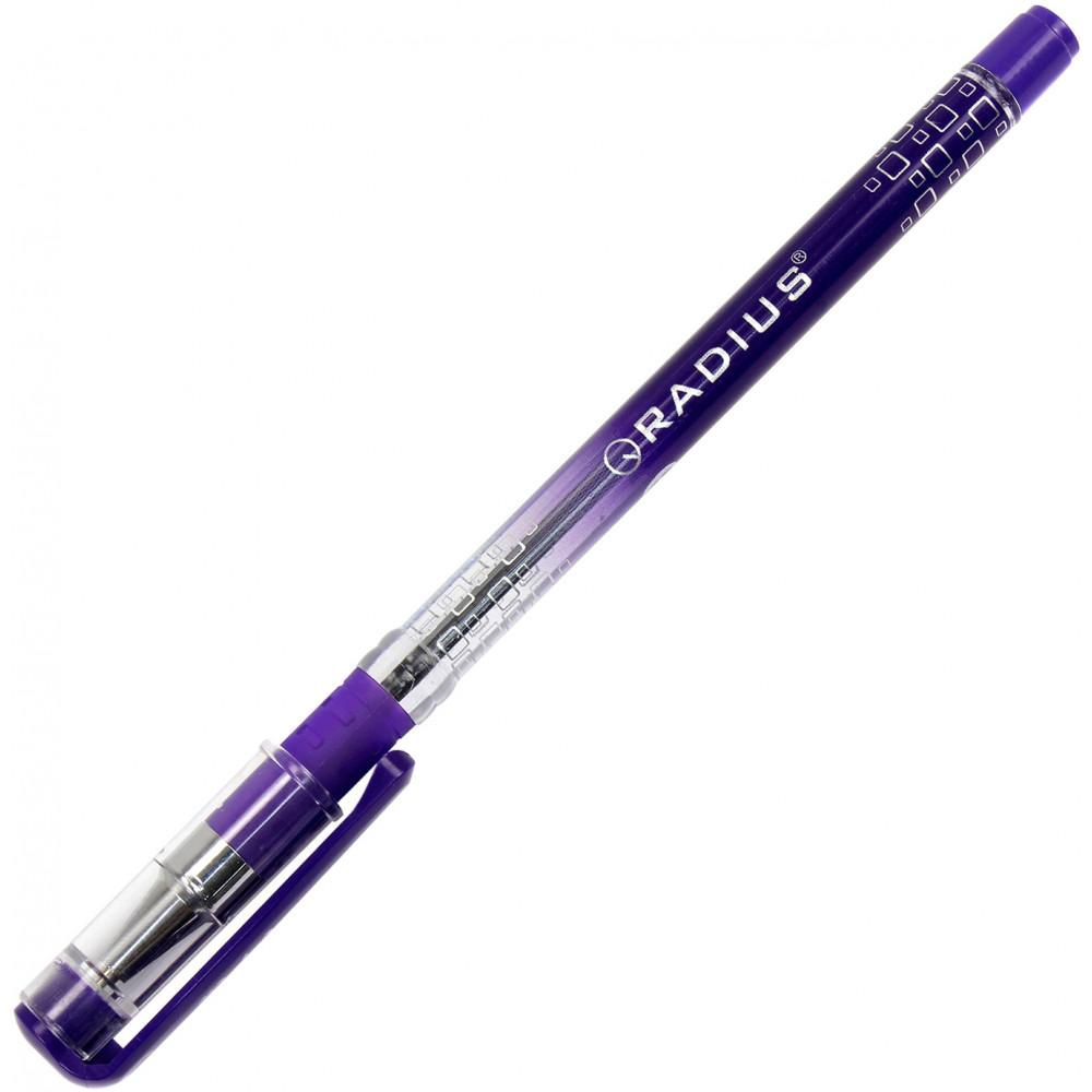 Ручка шариковая Radius I-pen фиолетовая 0184