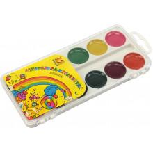 Акварель 12 кольорів Акварелька-карамелька  пластикова упаковка Конотоп (60)