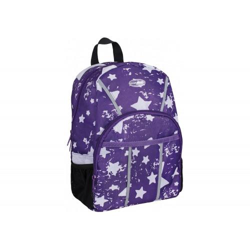 """Рюкзак дошкільний CoolForSchool Starry Violet 1 відділення 2 кишені 11"""" (6) №CF86104/306"""
