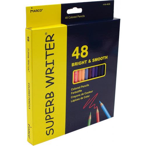 Олівці кольорові 48 кольорів Marco (6) (60) 4100-48CB
