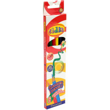 Карандаши цветные 6 цветов Class Premium Акс (24) №1606/01152600