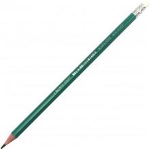 Олівець чорнографітний Economix Eco-soft E11317 HB з гумкою пластиковий