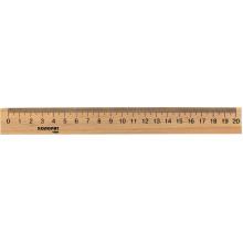 Лінійка дерев'яна Колоритон 20 см Харків (100)