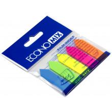Стикеры-закладки Economix 5 неоновых цветов 25 шт Стрелки (24) (48) №Е20946