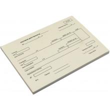 Платежное поручение А5 100 шт одностороннее газетка (5) (40)