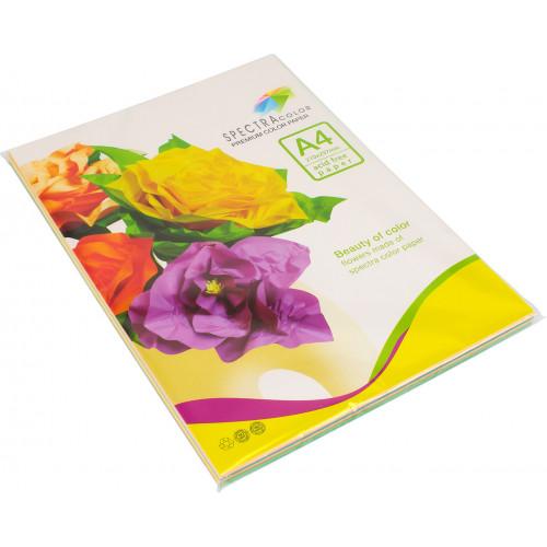 Папір кольоровий А4 80г/м2 пастель 5х20 Spectra Color-Rainbow Pack Light IT 82 Т 100 шт (22) (25)