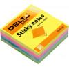 Блок для заміток з липким шаром 75х75 мм 250 аркушів неон куб Delta by Axent (1) (10) 3351