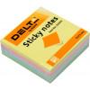 Блок для заміток з липким шаром 75х75 мм 250 аркушів пастель куб Delta by Axent (1) (10) 3350