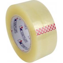 Стрічка клейка пакувальна Contur 48ммх180мх45мкм прозора (пиле, волого, морозостійка) (6) (24)