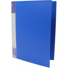 Папка-вуса Economix А4 CLIP A пластикова 1 кишеня синя (1) (20) (120) E31201-02