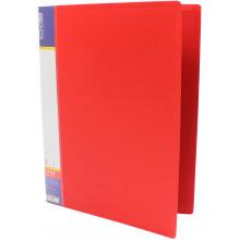 Папка-усы Economix А4 CLIP A пластиковая 1 карман красная (1) (20) (120) №E31201-03
