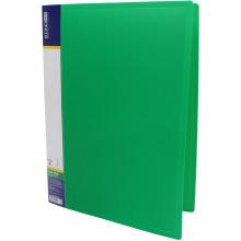 Папка-усы Economix А4 CLIP A пластиковая 1 карман зеленая (1) (20) (120) №E31201-04