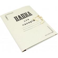 Папка на завязках А4 картонная (50) №DK002