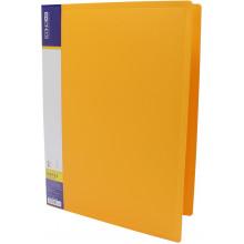 Папка-усы Economix А4 CLIP A пластиковая 1 карман желтая (1) (20) (120) №E31201-05