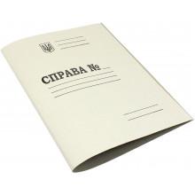 Папка Справа Тризуб А4 картонна (200) №DK001