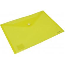 Папка-конверт Axent А4 на кнопке оранжевая/желтая (12) (240) №1402-26