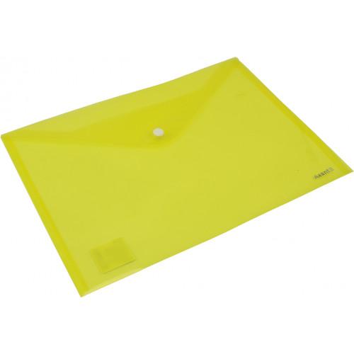 Папка-конверт Axent А4 на кнопці помаранчева/жовта (12) (240) 1402-26