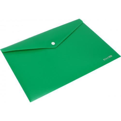Папка-конверт Economix А4 непрозора на кнопці (12) (120) E31305-50