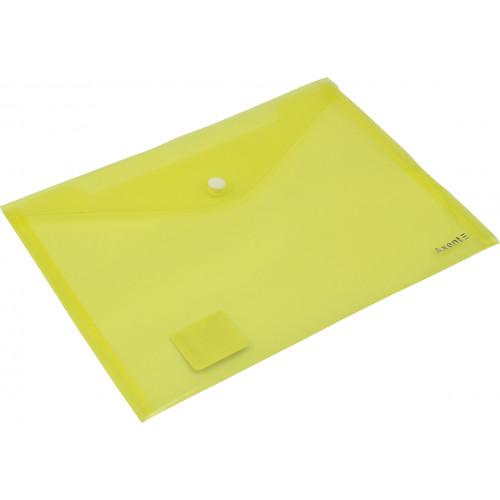 Папка-конверт Axent А5 на кнопці, помаранчева (12) 1522-26-А