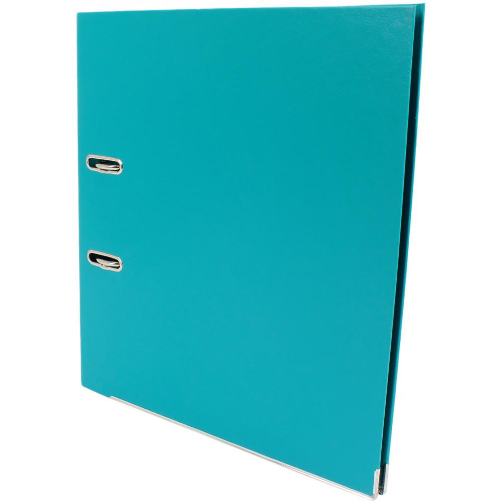 Папка-регистратор Economix Lux E39723*-21 А4 7см собранная бирюзовая