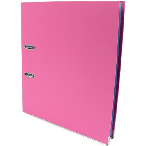 Папка-реєстратор Economix А4 7см зібрана рожева (10) №E39721*-09