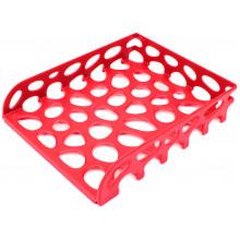 Лоток горизонтальный Tascom красный (10) №Л-20605/3058