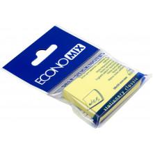 Блок для заметок с липким слоем 38х50 мм 100 листов желтый Economix (12) №E20930