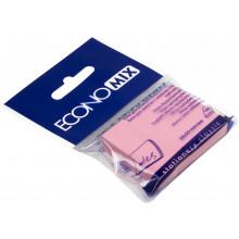 Блок для заметок с липким слоем 38х50 мм 100 листов розовый Economix (12) №E20930-09
