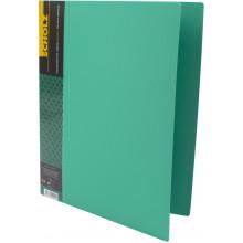 Папка с зажимом Scholz А4 с карманом PP зеленая (1) (20) №05502
