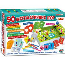 Гра Великий набір 50 математичних ігор українською Ранок (6) 5863/12109058У