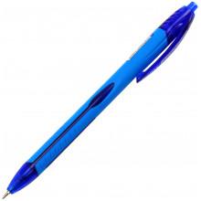 Ручка автоматическая шариковая Unimax Aerogrip 0,7 мм синяя (12) (120) №UX-136-02