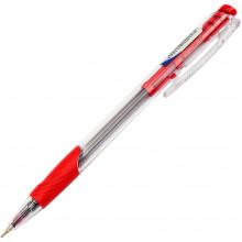 Ручка автоматическая шариковая Digno Comfy тонированная красная (50)