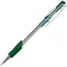 Ручка автоматическая шариковая Digno Comfy тонированная зеленая (50)