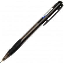 Ручка автоматическая шариковая Digno Comfy прозрачная черная (50)