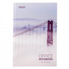 Книга канцелярська A4 192 аркуша клітинка San Francisco (5) №8423-22 Axent
