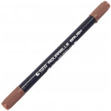 Маркер акварельный STA 2-3 мм коричневый (6) №3110I-49