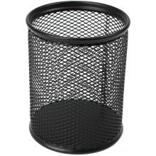 Підставка для ручок Axent 8х8х10см металева кругла чорна (12) №2110-01