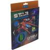 Олівці кольорові 24 кольори 1 Вересня Star Explorer (8) 290550