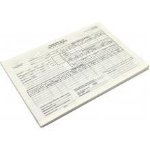 Дорожній лист вантажного автомобіля А4 100 шт офсет (5) (20) №БЛ1033/БО0008