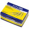 Скріпки Economix 25 мм 100 шт круглі (10) Е41002