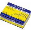 Скріпки Economix 28 мм 100 шт трикутні Е41014