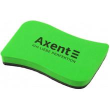 Губка для доски Axent Wave зеленая (12) №9804-05