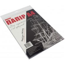 Бумага для художественных работ Тетрада 12 листов черная в полиэтиленовом пакете (30)