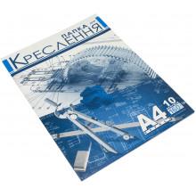 Папка для черчения А4 160г/м2 Рюкзачок 10 листов (25) №ПДК-1