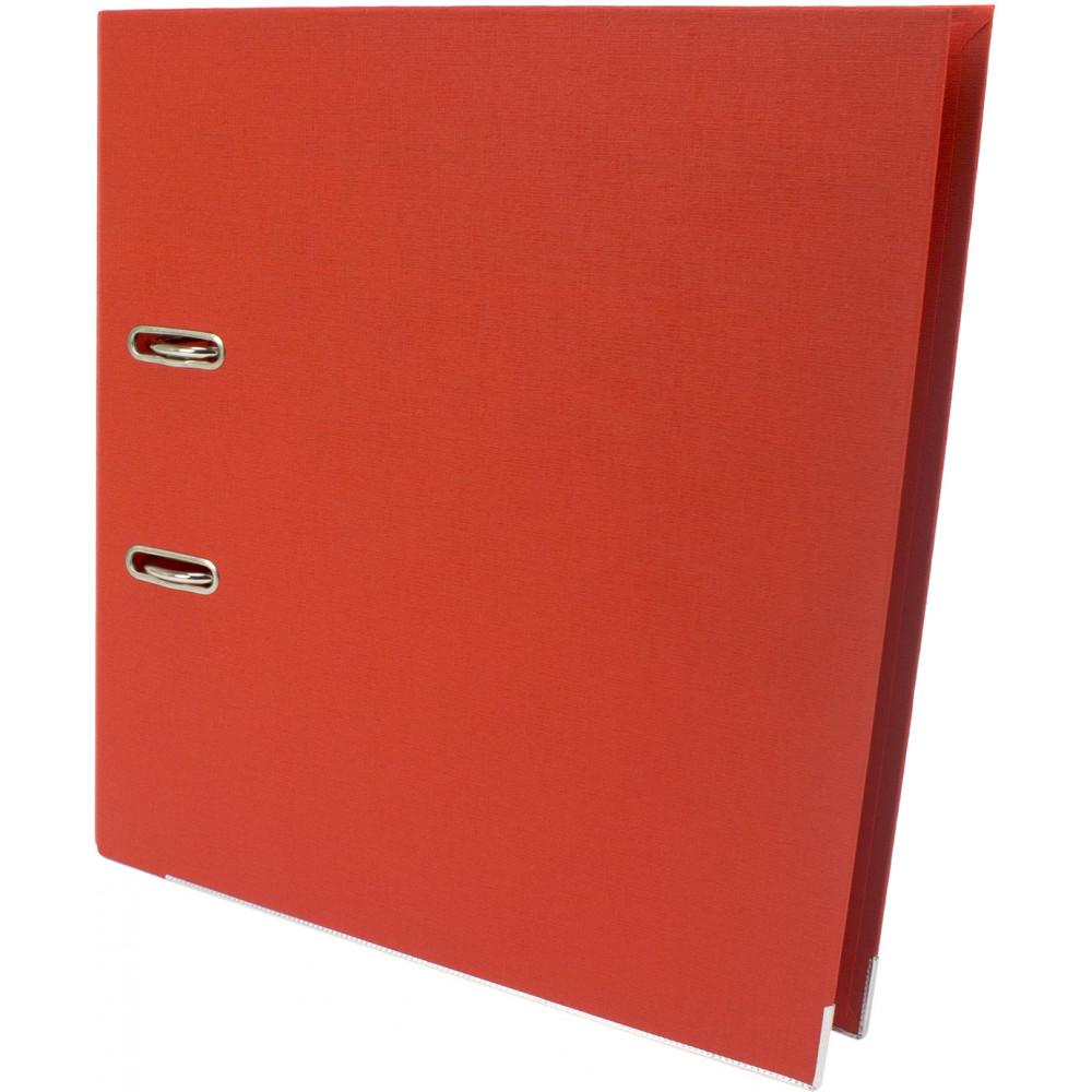Папка-регистратор Delta by Axent 1712-09 А4 7,5см двусторонний полипропилен разобранная оранжевая